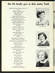 Page 12, 1960 Edition, Dominican Academy - Dominilog Yearbook (Fall River, MA) online yearbook collection