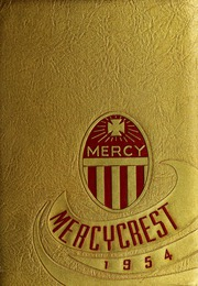 Mount St Marys Academy - Mercycrest Yearbook (Fall River, MA) online yearbook collection, 1954 Edition, Page 1