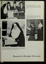 Page 17, 1965 Edition, Mount St Marys Academy - Mercycrest Yearbook (Fall River, MA) online yearbook collection