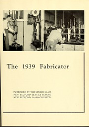 Page 9, 1939 Edition, New Bedford Institute of Technology - Fabricator Yearbook (New Bedford, MA) online yearbook collection