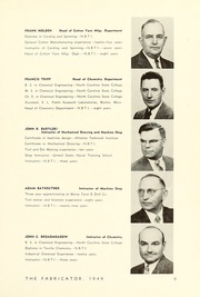 Page 13, 1949 Edition, New Bedford Institute of Technology - Fabricator Yearbook (New Bedford, MA) online yearbook collection