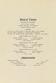 Page 6, 1949 Edition, New Bedford Institute of Technology - Fabricator Yearbook (New Bedford, MA) online yearbook collection