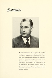 Page 7, 1949 Edition, New Bedford Institute of Technology - Fabricator Yearbook (New Bedford, MA) online yearbook collection
