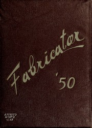 1950 Edition, New Bedford Institute of Technology - Fabricator Yearbook (New Bedford, MA)