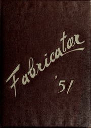 1951 Edition, New Bedford Institute of Technology - Fabricator Yearbook (New Bedford, MA)