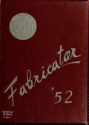 Page 1, 1952 Edition, New Bedford Institute of Technology - Fabricator Yearbook (New Bedford, MA) online yearbook collection