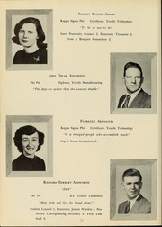 Page 16, 1952 Edition, New Bedford Institute of Technology - Fabricator Yearbook (New Bedford, MA) online yearbook collection