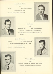 Page 17, 1952 Edition, New Bedford Institute of Technology - Fabricator Yearbook (New Bedford, MA) online yearbook collection