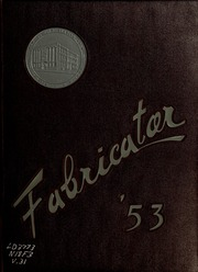 1953 Edition, New Bedford Institute of Technology - Fabricator Yearbook (New Bedford, MA)