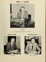 Page 13, 1953 Edition, New Bedford Institute of Technology - Fabricator Yearbook (New Bedford, MA) online yearbook collection