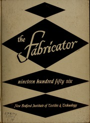 1956 Edition, New Bedford Institute of Technology - Fabricator Yearbook (New Bedford, MA)