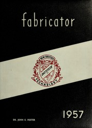 1957 Edition, New Bedford Institute of Technology - Fabricator Yearbook (New Bedford, MA)