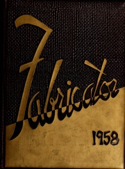 1958 Edition, New Bedford Institute of Technology - Fabricator Yearbook (New Bedford, MA)