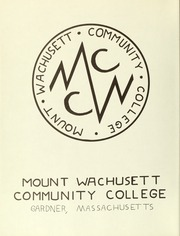 Page 4, 1968 Edition, Mount Wachusett Community College - Yearbook (Gardner, MA) online yearbook collection