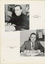 Page 16, 1951 Edition, Saint Michaels College - Hilltop Yearbook (Colchester, VT) online yearbook collection