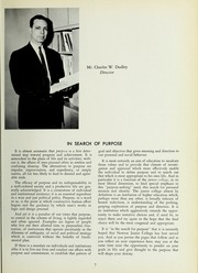 Page 11, 1963 Edition, Newton Junior College - Yearbook (Newton, MA) online yearbook collection
