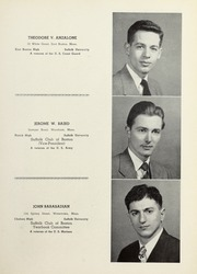 Page 15, 1950 Edition, Suffolk University Law School - Lex Yearbook (Boston, MA) online yearbook collection