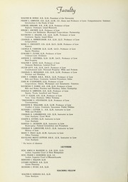 Page 8, 1950 Edition, Suffolk University Law School - Lex Yearbook (Boston, MA) online yearbook collection