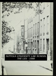 Page 5, 1988 Edition, Suffolk University Law School - Lex Yearbook (Boston, MA) online yearbook collection