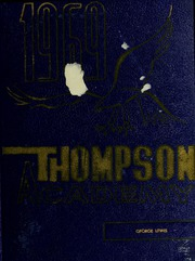Thompson Academy - Islander Yearbook (Boston, MA) online yearbook collection, 1969 Edition, Page 1