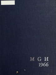 1966 Edition, Massachusetts General Hospital School of Nursing - Yearbook (Boston, MA)