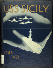 Page 1, 1951 Edition, Sicily (CVE 118) - Naval Cruise Book online yearbook collection