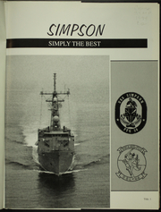 Page 5, 1994 Edition, Simpson (FFG 56) - Naval Cruise Book online yearbook collection