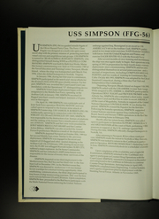 Page 8, 1996 Edition, Simpson (FFG 56) - Naval Cruise Book online yearbook collection