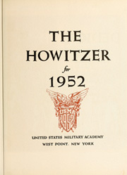 Page 11, 1952 Edition, United States Military Academy West Point - Howitzer Yearbook (West Point, NY) online yearbook collection