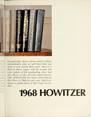 Page 9, 1968 Edition, United States Military Academy West Point - Howitzer Yearbook (West Point, NY) online yearbook collection