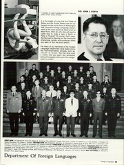 Page 59, 1985 Edition, United States Military Academy West Point - Howitzer Yearbook (West Point, NY) online yearbook collection
