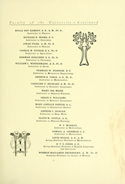 Page 17, 1903 Edition, University of Missouri - Savitar Yearbook (Columbia, MO) online yearbook collection