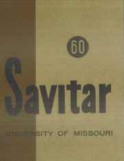 Page 1, 1960 Edition, University of Missouri - Savitar Yearbook (Columbia, MO) online yearbook collection