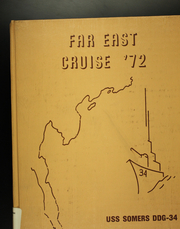 1972 Edition, Somers (DDG 34) - Naval Cruise Book