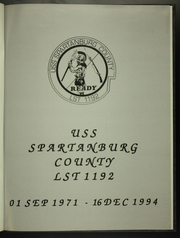 Page 5, 1994 Edition, Spartanburg (LST 192) - Naval Cruise Book online yearbook collection