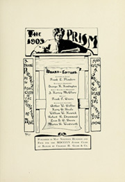 Page 7, 1905 Edition, University of Maine - Prism Yearbook (Orono, ME) online yearbook collection