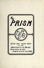 Page 7, 1906 Edition, University of Maine - Prism Yearbook (Orono, ME) online yearbook collection