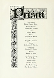 Page 10, 1922 Edition, University of Maine - Prism Yearbook (Orono, ME) online yearbook collection