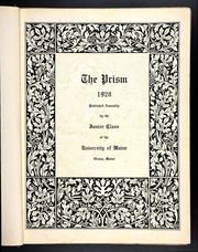 Page 9, 1928 Edition, University of Maine - Prism Yearbook (Orono, ME) online yearbook collection
