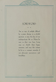 Page 8, 1933 Edition, University of Maine - Prism Yearbook (Orono, ME) online yearbook collection