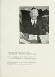 Page 17, 1936 Edition, University of Maine - Prism Yearbook (Orono, ME) online yearbook collection