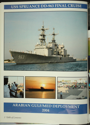Page 6, 2004 Edition, Spruance (DD 963) - Naval Cruise Book online yearbook collection