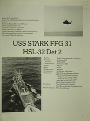 Page 5, 1984 Edition, Stark (FFG 31) - Naval Cruise Book online yearbook collection