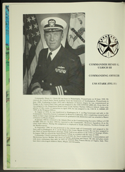 Page 6, 1992 Edition, Stark (FFG 31) - Naval Cruise Book online yearbook collection