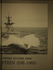 Page 7, 1973 Edition, Stein (DE 1065) - Naval Cruise Book online yearbook collection