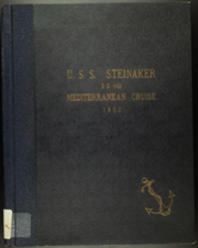 1952 Edition, Steinaker (DD 863) - Naval Cruise Book