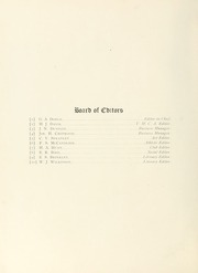 Page 12, 1901 Edition, College of William and Mary - Colonial Echo Yearbook (Williamsburg, VA) online yearbook collection