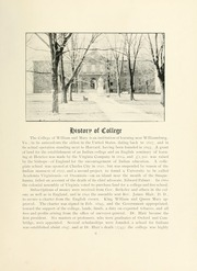 Page 15, 1901 Edition, College of William and Mary - Colonial Echo Yearbook (Williamsburg, VA) online yearbook collection