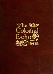 Page 1, 1905 Edition, College of William and Mary - Colonial Echo Yearbook (Williamsburg, VA) online yearbook collection