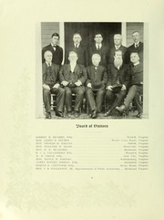 Page 10, 1909 Edition, College of William and Mary - Colonial Echo Yearbook (Williamsburg, VA) online yearbook collection